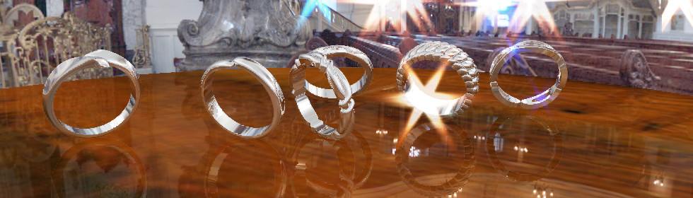 シルバー製の結婚指輪オーダーサイト
